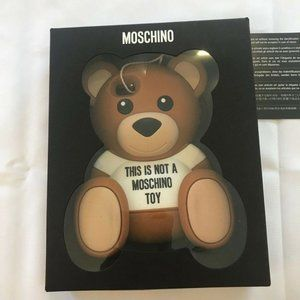 Moschino Accessories - Teddy Bear This Is Not A Toy Case 4 iPhone 5 5S 5C